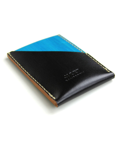PORTRAIT V2 WALLET in BLAQ and TAHOE