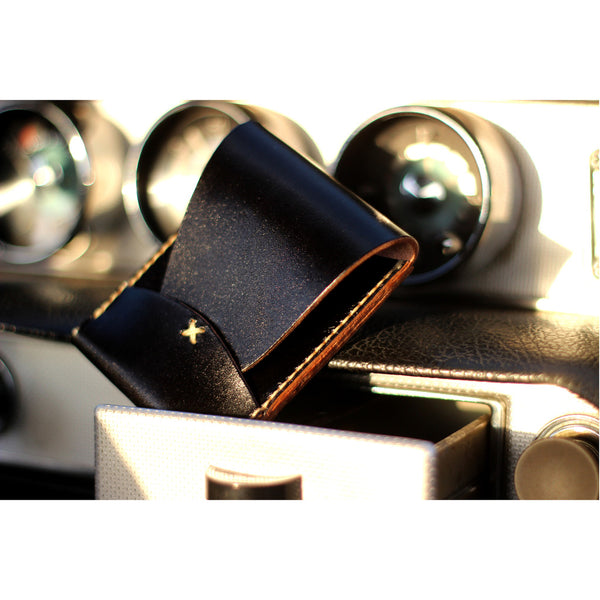 PORTRAIT WALLET in BLAQ