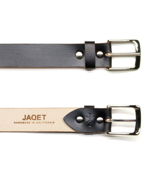 SLIM BELT in BLAQ