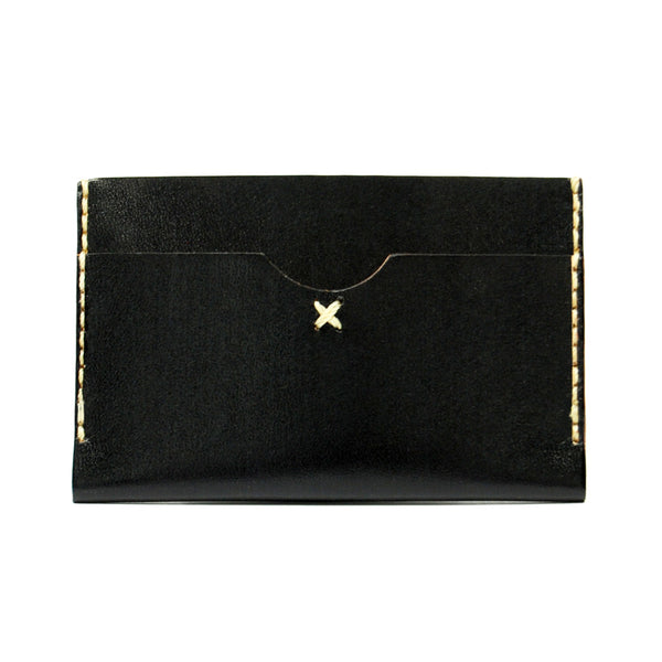 SLIM CARD WALLET in BLAQ