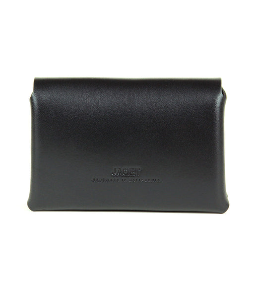 STITCHLESS LANDSCAPE  WALLET in JET