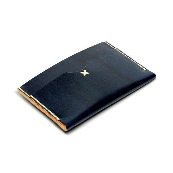 SLIM CARD WALLET in MIDNIGHT