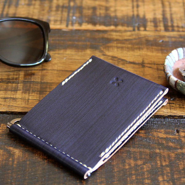 FLIP V2 WALLET in DARK PLUM