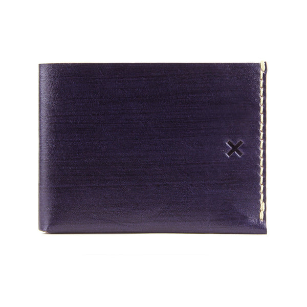 BIFOLD WALLET in DARK PLUM