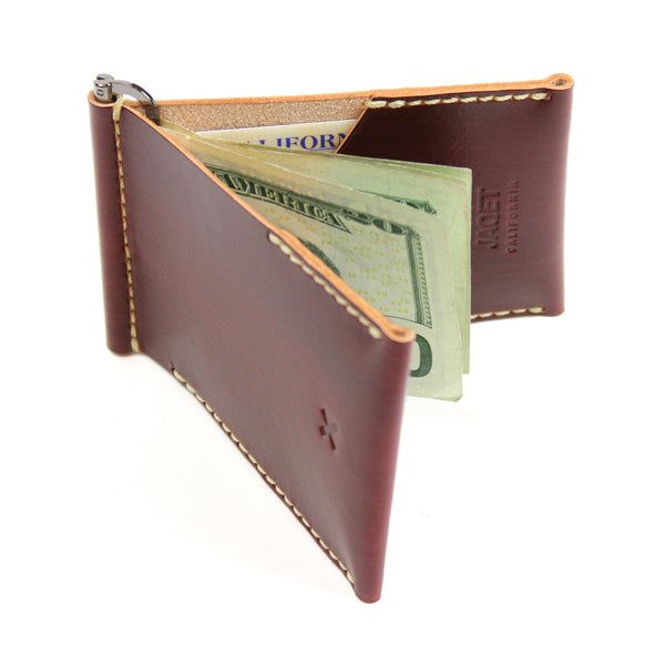 FLIP V2 WALLET in REDWOOD