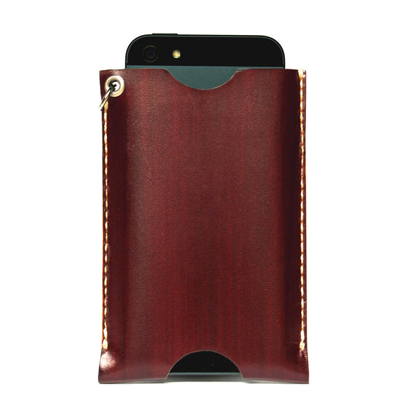 PHONE WALLET in REDWOOD