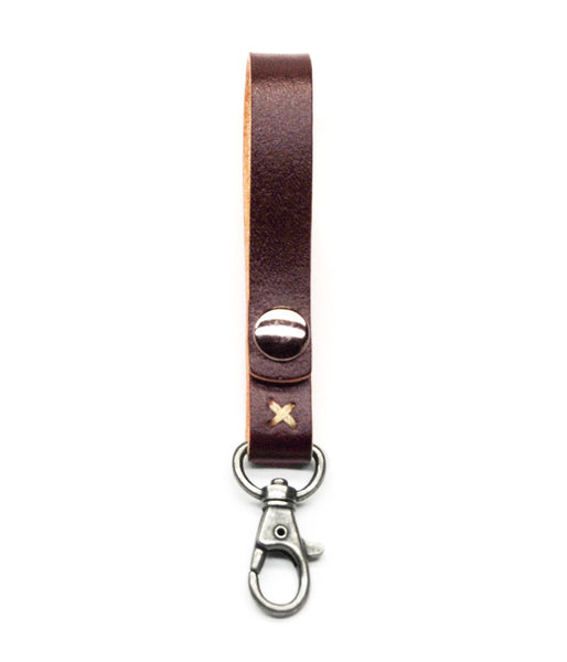 KEY LANYARD in REDWOOD