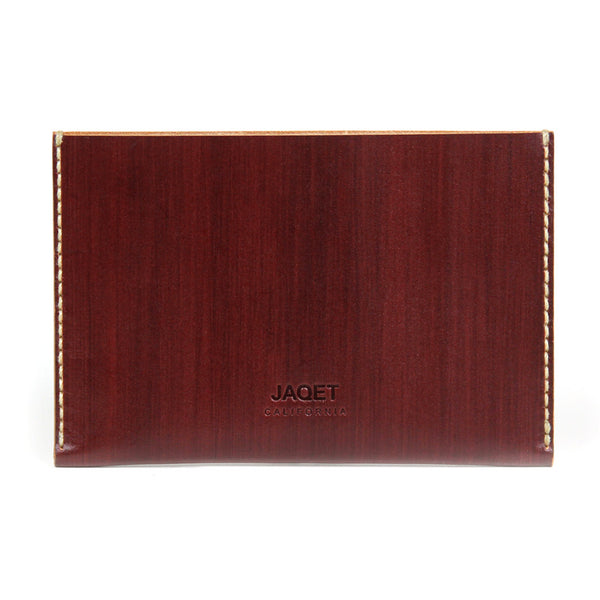 PASSPORT SLEEVE in REDWOOD
