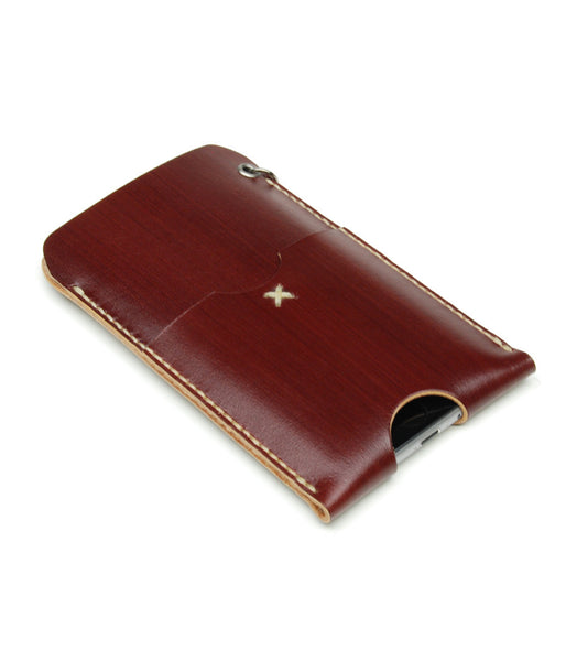 iPhone 6 WALLET in REDWOOD