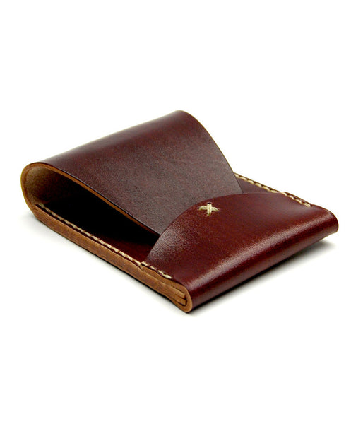 PORTRAIT WALLET in REDWOOD