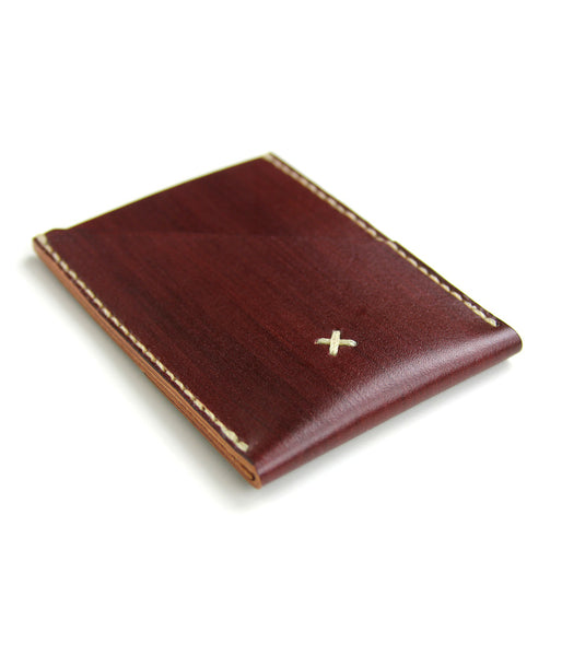 PORTRAIT V2 WALLET in REDWOOD
