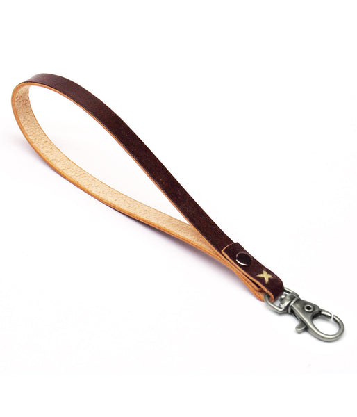 WRIST LANYARD in REDWOOD