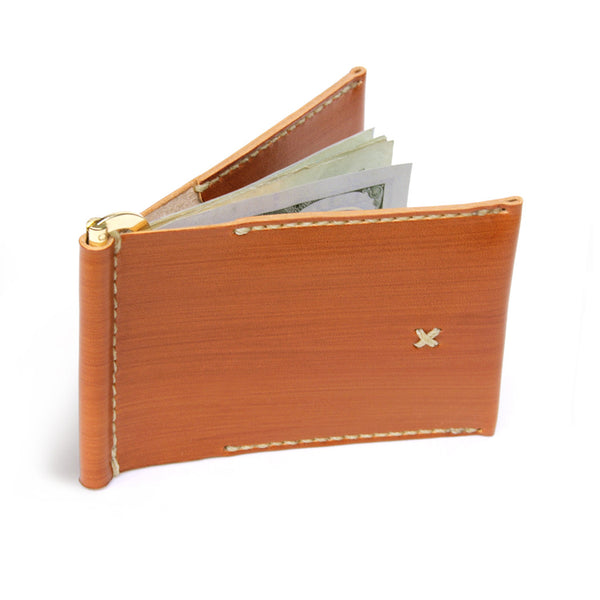 FLIP WALLET in SADDLE