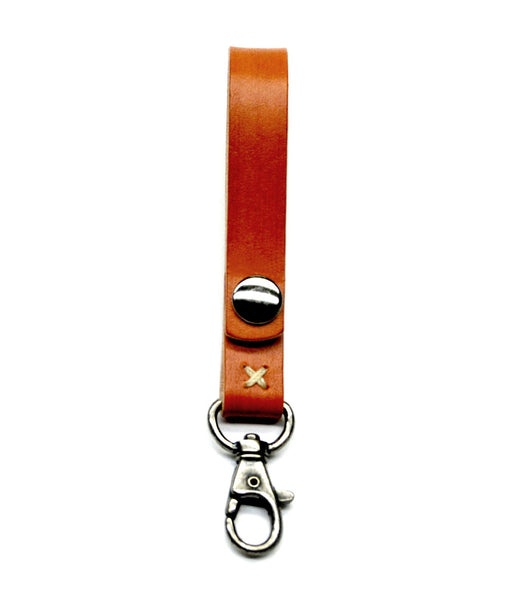 KEY LANYARD in SADDLE