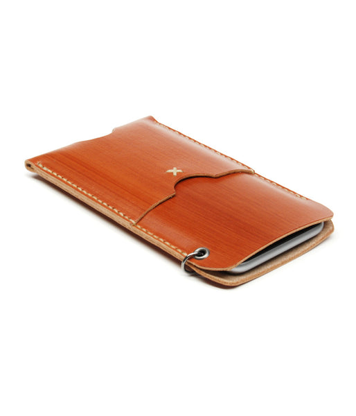 iPhone 6 WALLET in SADDLE