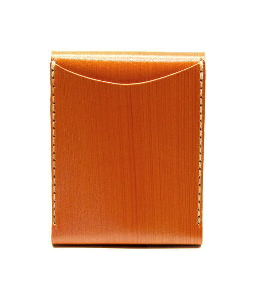 PORTRAIT WALLET in SADDLE