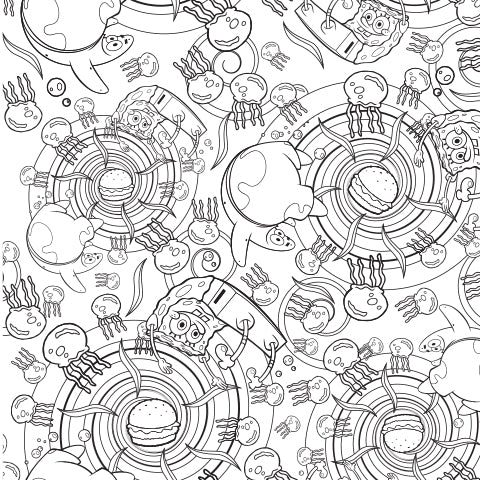 Every Day is a New Adventure! Coloring Sheet