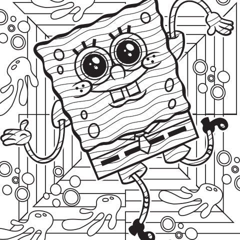 Go with the Flow! Coloring Sheet