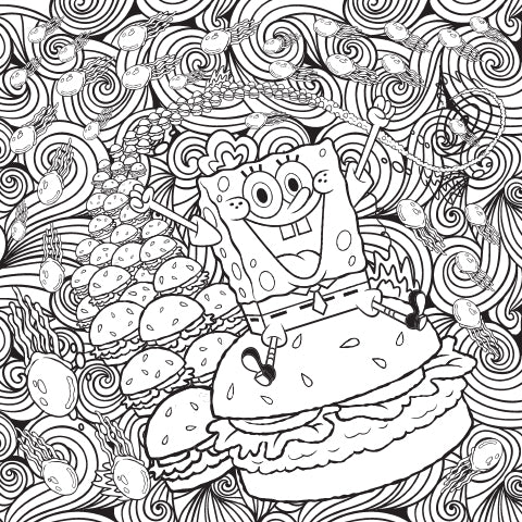 I Believe I Can Fry! Coloring Sheet