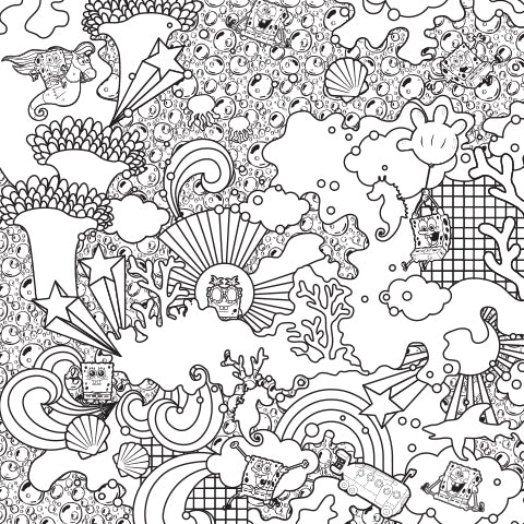 Keep the Good Vibes Flowing! Coloring Sheet