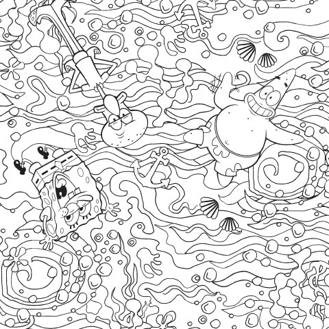 Squidward: Patrick, How Stupid Are You? Patrick: It Varies. Coloring Sheet