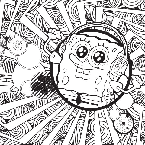 Soak in the Sound! Coloring Sheet