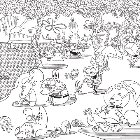 Soak Up This Amazing Day! Coloring Sheet