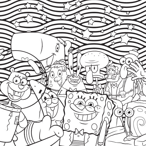 Free Spongebob Coloring Pages and More   480x480