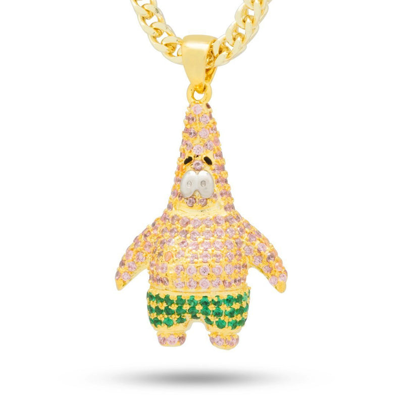 SpongeBob X King Ice - Iced Patrick Necklace - SpongeBob SquarePants Official Shop