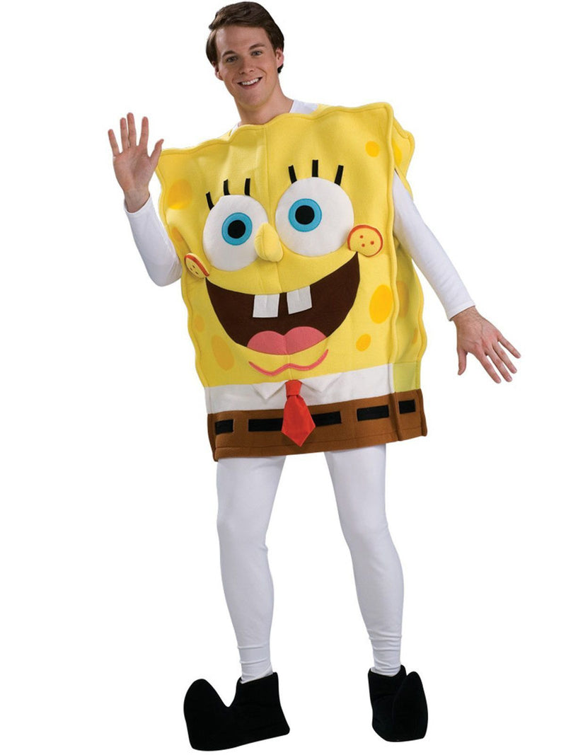 SpongeBob SquarePants Deluxe Adult Costume - SpongeBob SquarePants Official Shop