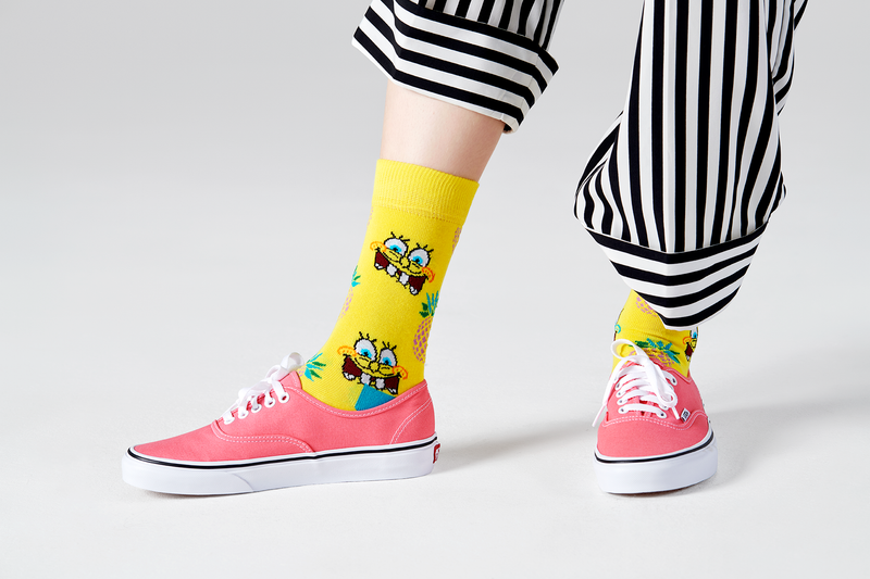 SpongeBob SquarePants Fineapple Surprise Socks - SpongeBob SquarePants Official Shop