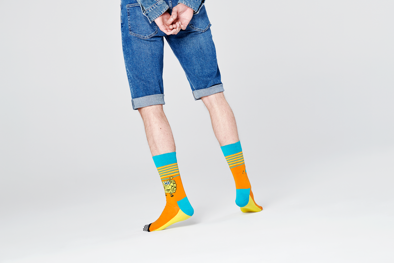 SpongeBob SquarePants Let's Work It Out Socks - SpongeBob SquarePants Official Shop