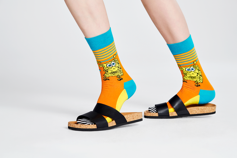 SpongeBob Let's Work It Out Socks - SpongeBob SquarePants Official Shop