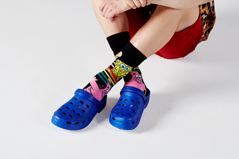 SpongeBob SquarePants Bubble in Paradise Socks - SpongeBob SquarePants Official Shop