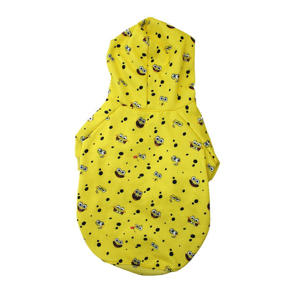 Spongebob x Fresh Pawz - SB All Over Hoodie | Dog Clothing - SpongeBob SquarePants Official Shop