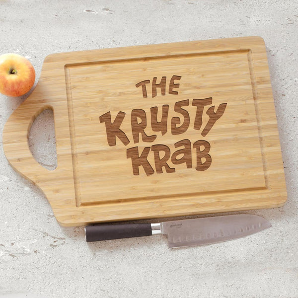 The Krusty Krab Cutting Board - SpongeBob SquarePants Official Shop