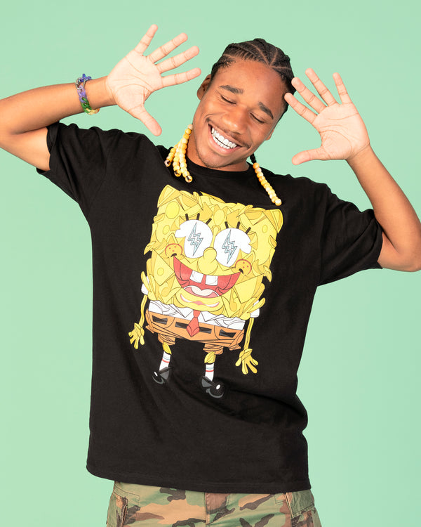 SpongeBob J Balvin Short Sleeve T-Shirt - SpongeBob SquarePants Official Shop