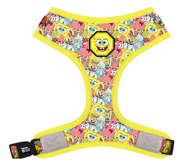 Spongebob X Fresh Pawz - SB & Friends | Adjustable Mesh Harness - SpongeBob SquarePants Official Shop