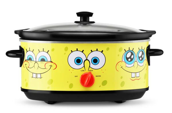 SpongeBob SquarePants 7 Quart Slow Cooker - SpongeBob SquarePants Official Shop