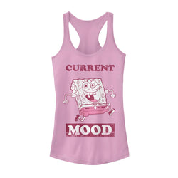 SpongeBob Current Mood Women's Racerback Tank Top - SpongeBob SquarePants Official Shop