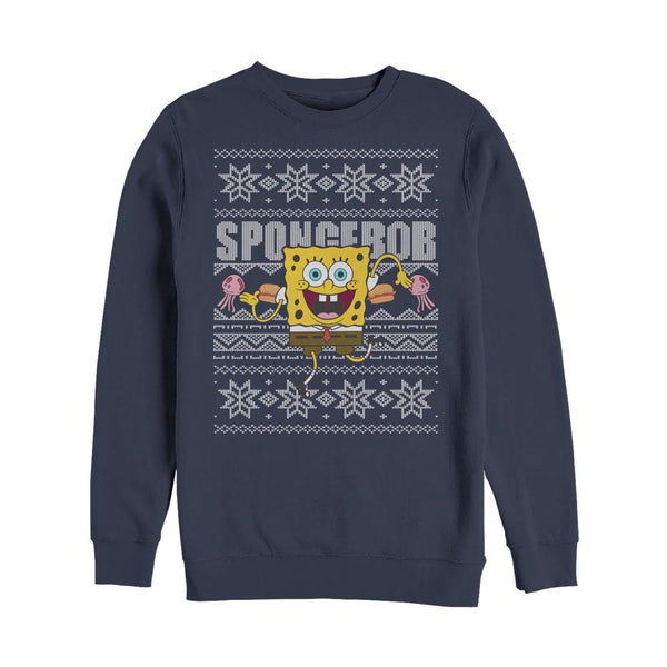 SpongeBob SquarePants Dancing Sponge Crew Neck Sweatshirt - SpongeBob SquarePants Official Shop
