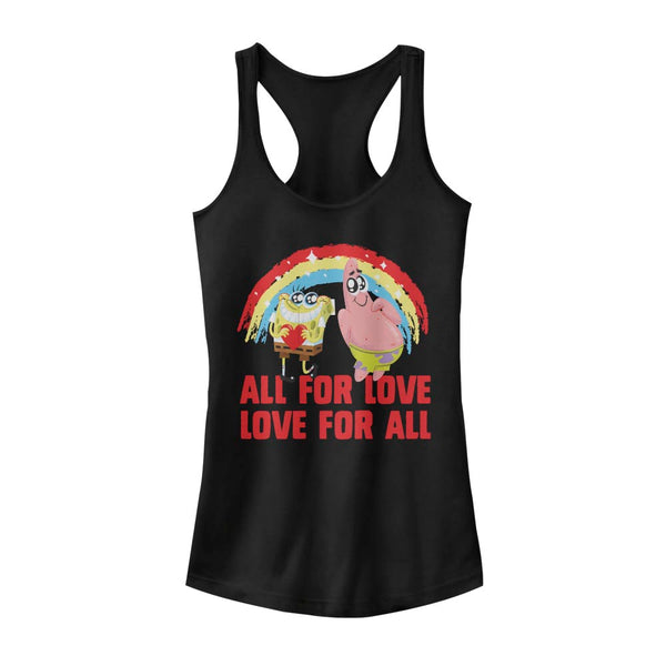 All for Love Racerback Tank Top - SpongeBob SquarePants Official Shop