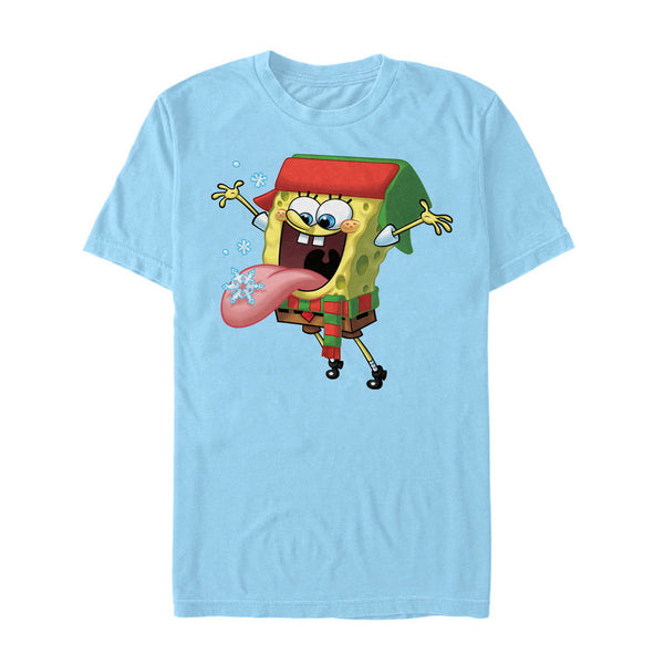 SpongeBob Snowflake Short Sleeve T-Shirt - SpongeBob SquarePants Official Shop