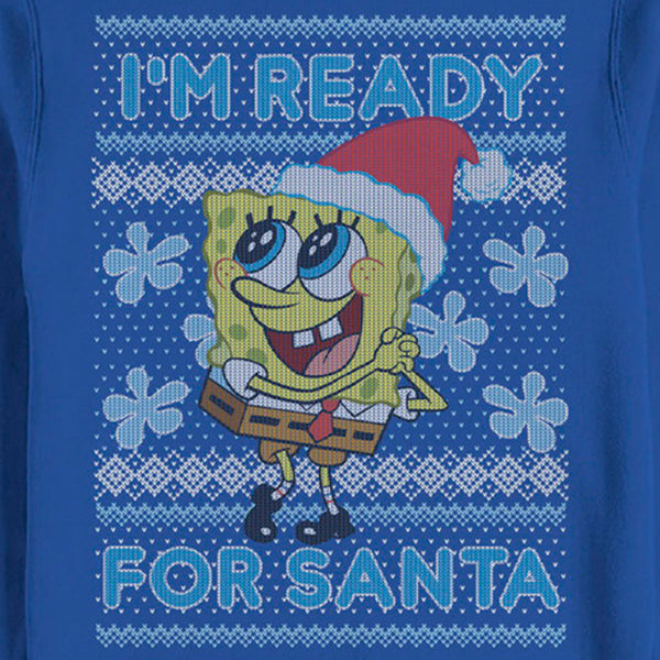SpongeBob Ready for Santa Crew Neck Sweatshirt - SpongeBob SquarePants Official Shop