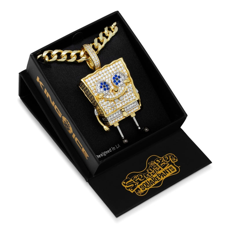 SpongeBob X King Ice - XL SpongeBob SquarePants Necklace - SpongeBob SquarePants Official Shop