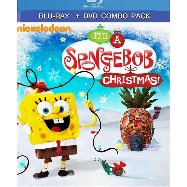 SpongeBob SquarePants: It's a SpongeBob Christmas (Blu-ray)