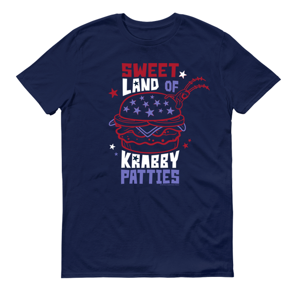 SpongeBob SquarePants The Krusty Krab Land of Krabby Patties Adult Short Sleeve T-Shirt