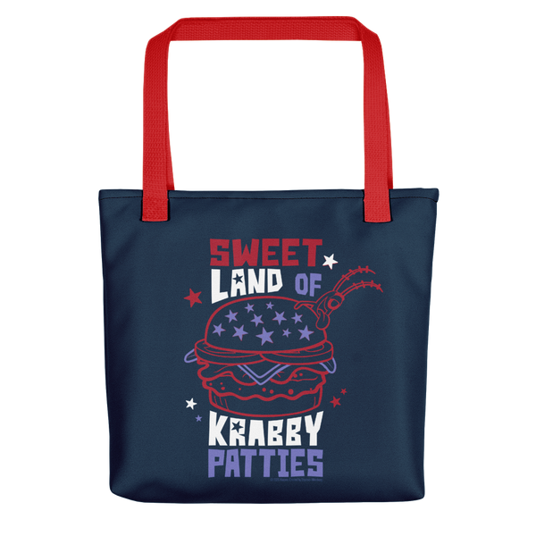 SpongeBob SquarePants The Krusty Krab Land of Krabby Patties Premium Tote Bag