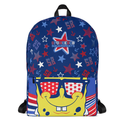 SpongeBob SquarePants SpongeBob SquarePants Americana Pattern Premium Backpack