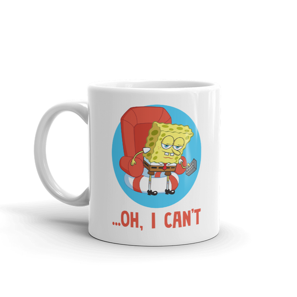 SpongeBob SquarePants Oh, I Can't Meme White Mug